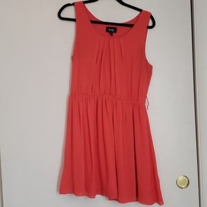 Coral By&By mini dress